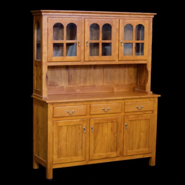 Country Kitchen Cupboard 3 Door, 3 Door Kitchen Cabinet